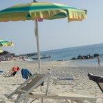 la spiaggia veramente carina