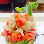 King Crab Meat with Avocado Salad @ Cadillac Cafe & Bar