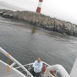 Faro del Fin del Mundo desde el Catamaran