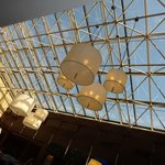 Ceiling in Lobby/bar area.