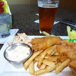 Fish & chips and beer!