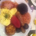 Freshly cooked breakfast to die for