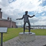 Billy Fury by the mersey