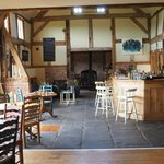 Cider Barn interior