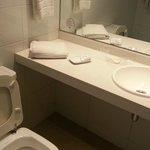 Baño limpio y cuidado