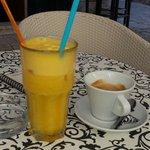 Best orange juice in Trogir.
