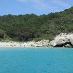 Cala Mitjana. Una de las más bonitas de Menorca