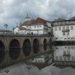 The roman bridge in Chaves 02/07/14