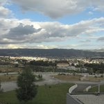View of Chaves from the balcony of Hotel Casino 01/07/14