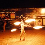 fire eater entertainement was great