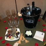 Bridal suite Goodies
