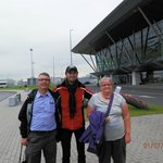 Us with our SPB guide Eugene
