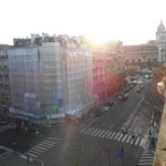窓から右にGare de Lyon
