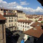 Uitzicht vanop balkon
