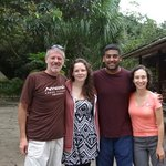 Beutiful couple that came from England and Bangladesh to visit the Ecuadorian Amazon!