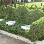 Шедевры садовника - живой диван