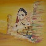 Интерьер - марроканская живопись