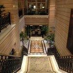 escadaria para lounge