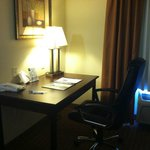 A work desk and chair - with great wifi