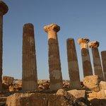 Agrigente temple d'Héraklès