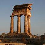 Agrigente temple des Dioscures