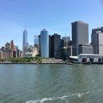 Skyline as you leave Manhattan