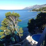 View from Villa Lora.