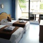 Chambre lit jumeaux terrasse