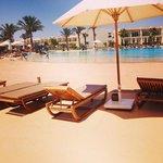 Beach hotel with sand
