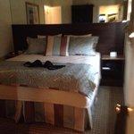 Bedroom very cozy.