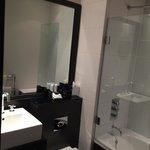 Stylish decor even in the bathroom
