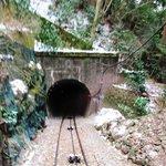 Mt.Tsukuba Ropeway tunnel