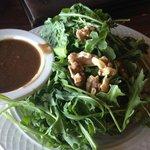 Arugula Salad (they were cheap on the walnuts)