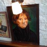 retrato que presidió nuestro almuerzo