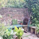 il giardino dall'appartamento sotto