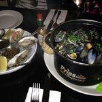 massive pot of mussels - £11