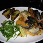 Brill with Mussels