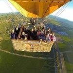 In flight over Napa