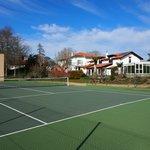 Millox vu du tennis