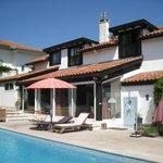 Millox: piscine et solarium