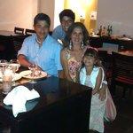 Cena en Alcazar (rest. de especialidades)