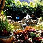 angolo del bellissimo giardino