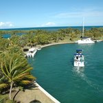 Docking at Boca Chita Key.