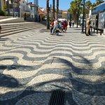 Optical Illusion in Cascais, Portugal