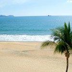 playa desde la alberca