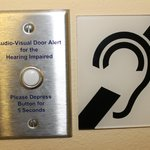 For hearing impaired outside the room