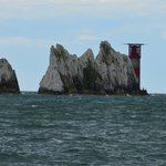 The Needles from the beach