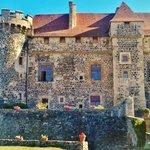 Rear of castle