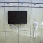 TV no Banheiro