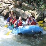 At Nantahala Falls! So much fun!